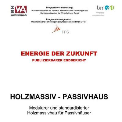 Holzmassiv - Passivhaus