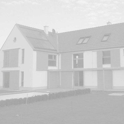 Holzhaus für 2 Familien