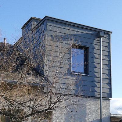 Dach Holz Zubau