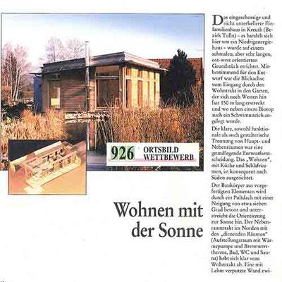vorgefertiges Holzhaus