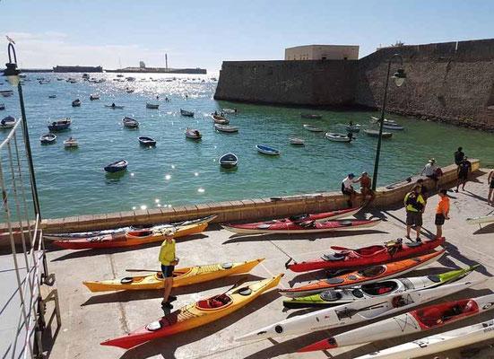 alquiler de kayak Puerto de Santa María
