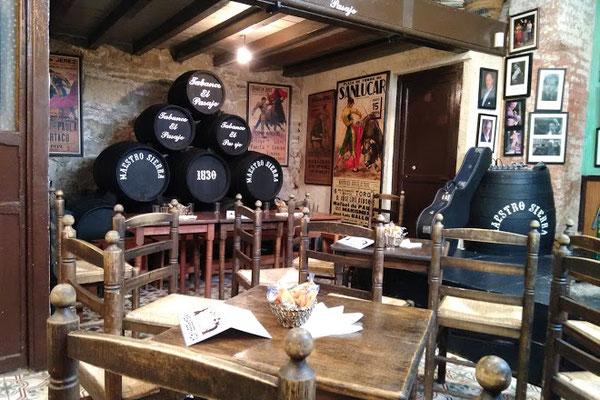cena con espectáculo flamenco en jerez de la frontera