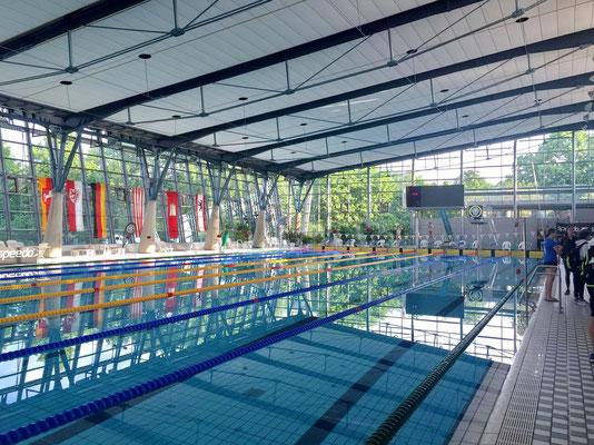 Die Braunschweiger Schwimmhalle