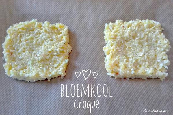 Bloemkool croque