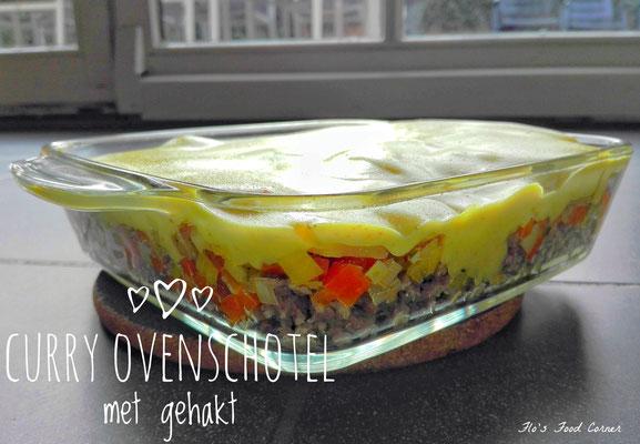 Curry ovenschotel met gehakt