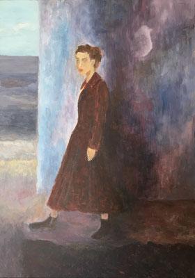 VorSicht - Acryl auf Leinwand 50 x 70 cm, 2020 | Blanka von Rohr | Malerei | Hamburg