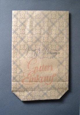 Joseph Beuys     Wirtschaftswerte    13,5 x 21 cm  ready-made, edition 1980     €750
