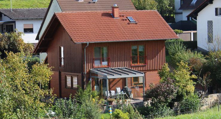 Blockhaus Neubau  Erbach (Odw.)  (Planung, Tragwerksplanung, Bauleitung)