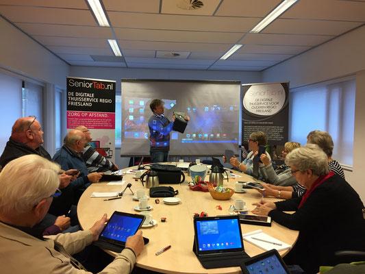 Workshop in Oosterwolde