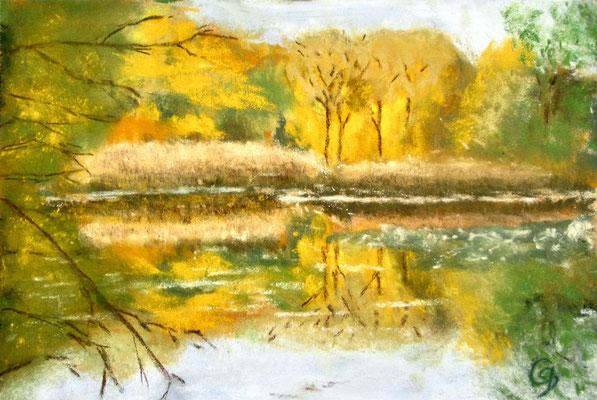 Teich in der Aubinger Lohe (Cristina Claus)