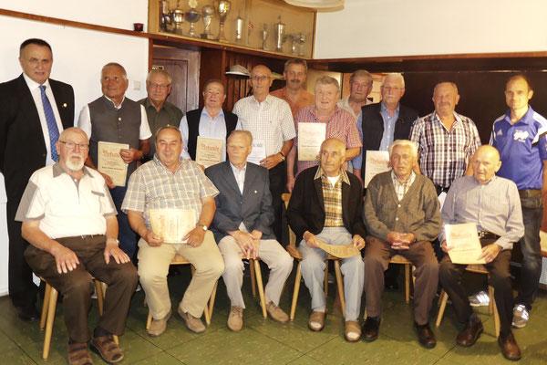 Ehrung für 50-jährige Mitgliedschaft