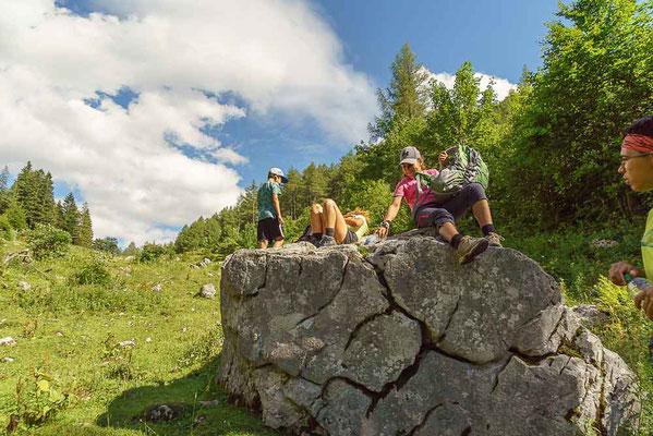 Wanderreisen mit Kindern - Nationalpark Kalkalpen