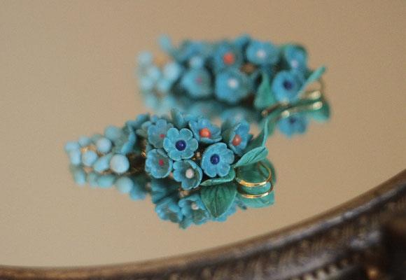 """серьги """"Turquoise""""  (с различными камнями) 1800р"""