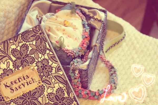 """сумочка """"Для принцессы"""", Колье """"Для принцессы"""" 12000р"""
