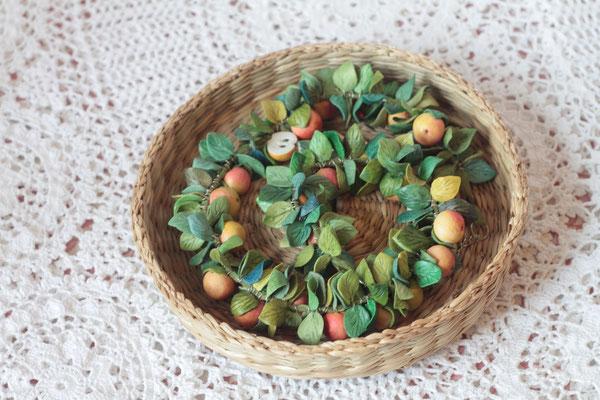 """бусы """"Яблочный спас"""" 4500р"""