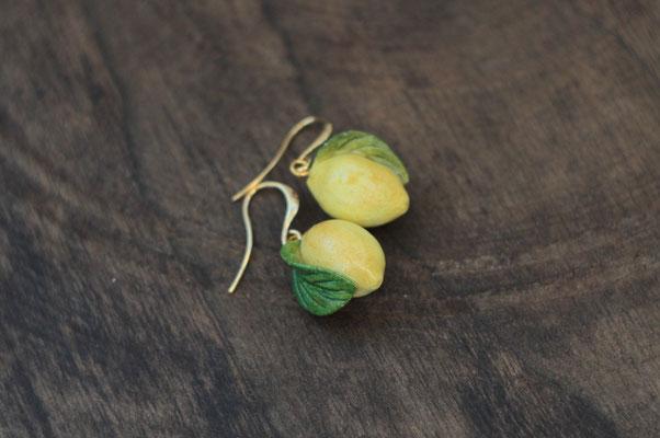 маленькие фруктовые серьги 500р