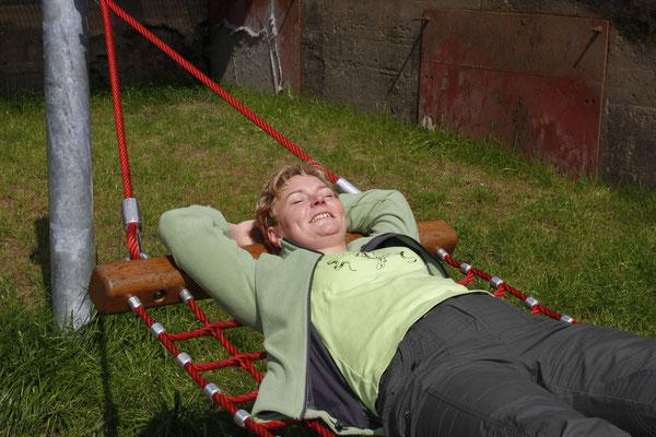 Relaxen im Landschaftspark Duisburg