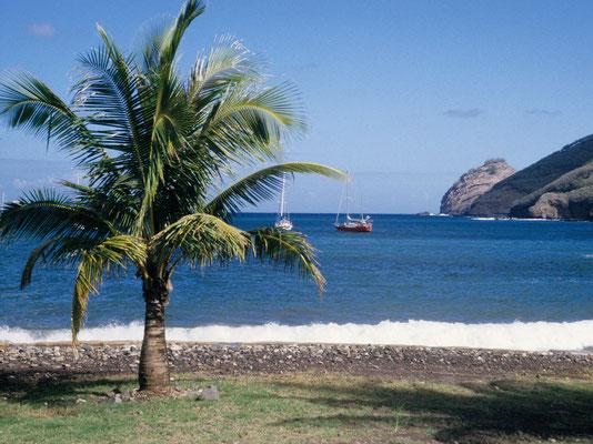Ankerbucht Fatu Hiva - Französisch Poynesien