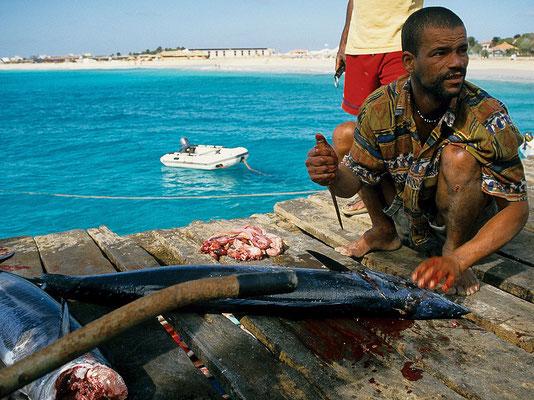 Fischer auf Sal - Kap Verden