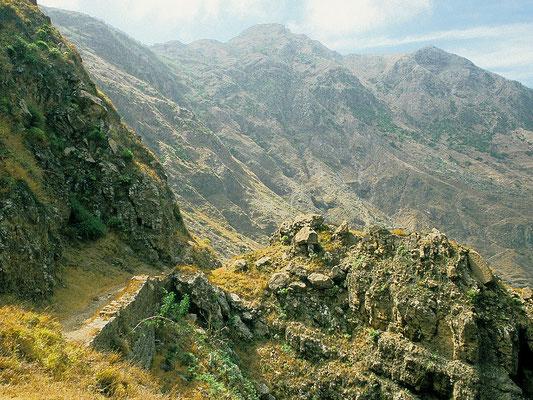 Wandern auf Santiago - Kap Verden