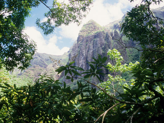 Wandern in Fatu Hiva, Marquesas - Französisch Poynesien