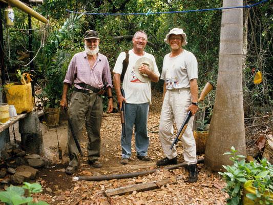 Auf der Wildschweinjagd in den Las Perlas - Panama