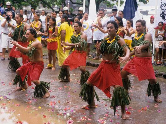 14. Juli auf den Marquesas - Französisch Poynesien