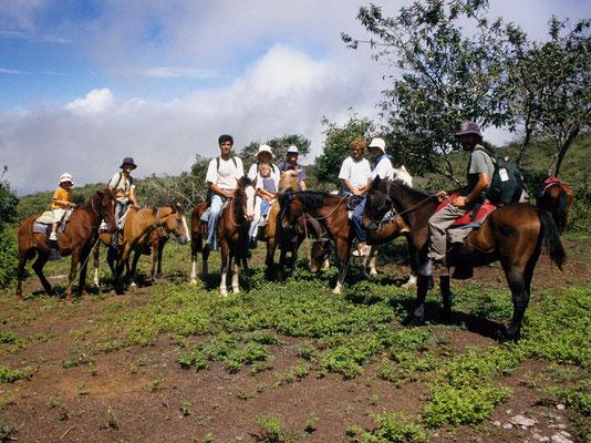 Reiten auf Isabella, Galapagos - Ecuador