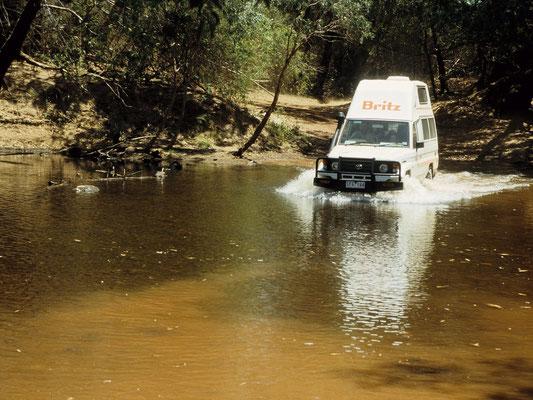 Mit dem Landcruiser im Kakadu National Park, Darwin - Australien