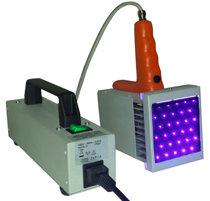 HIGH POWER LED 405 nm LAMP FOR CURING
