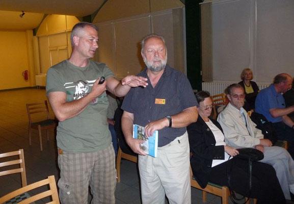 Mit Herrn Dr. Gutte in Berlin