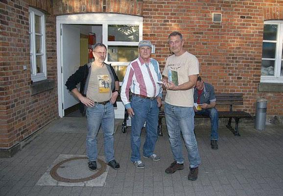 Mit Eberhard Lutz und Horst Faber in Hannover