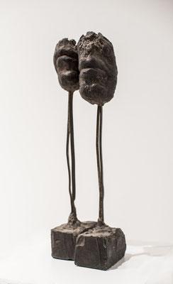 Münder - Nada Brahma, 1986, Bronze, 8cm x 10cm x 30cm