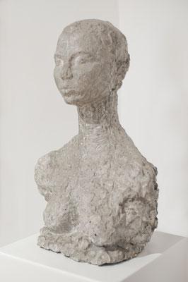 Christiane, 1995, Steinguss, 30cm x 20cm x 46cm