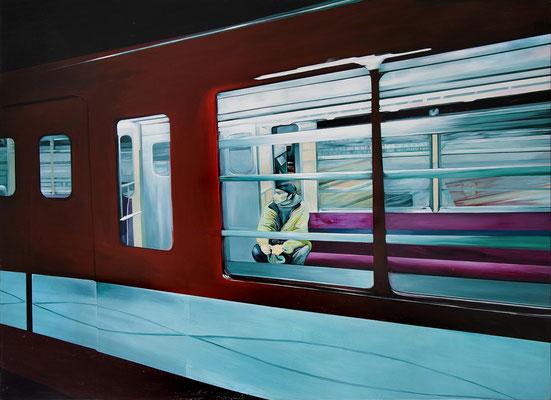 Pasajero, 2005, Acryl auf Leinwand, 130cm x 180cm
