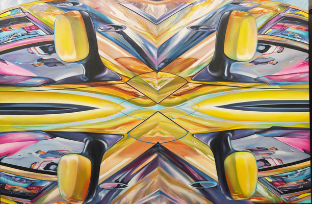 Leblon, 2013, Acryl auf Leinwand, 200cm x 133cm