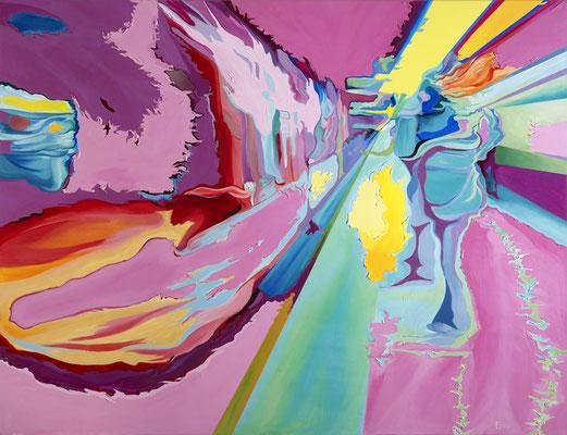 Pinky Pinky, 2010, Acryl auf Leinwand, 173cm x 133cm