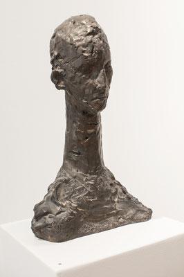 Selbstportrait, 1986, Bronze, 24cm x 14cm x 41cm