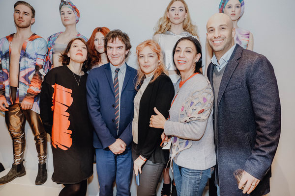 von links nach rechts: Claudine Brignot, Dario Loperfido, Daniela Boo, Ayten Bozbay, Levent Bozbay