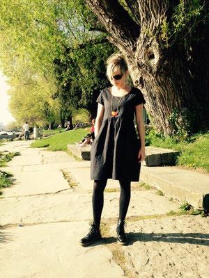 Kleid Brise mit Taschen
