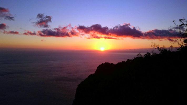 Sonnenuntergang am Cabo Girao (Danke für das Bild, Kathi!)