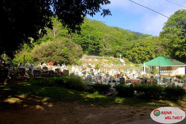 atemberaubender Friedhof im Norden
