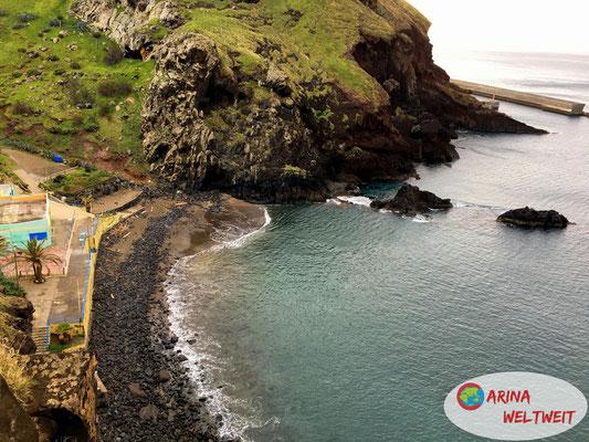Madeiras einziger natürlicher Sandstrand