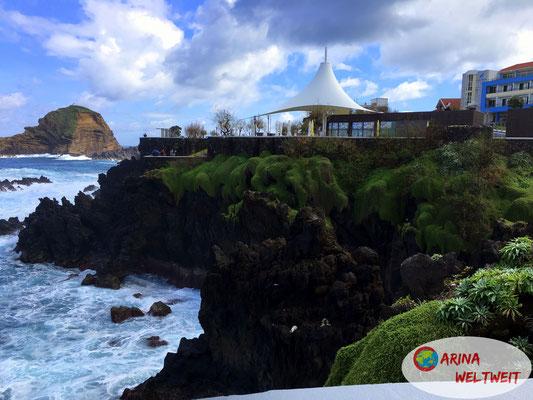 Blick vom Restaurant Orca