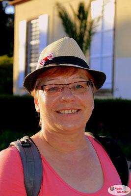 Mama kann meinen Hut gut tragen :)