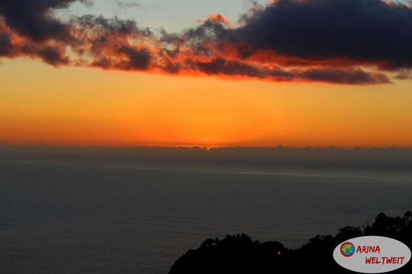 Sonnenuntergang am Cabo Girao