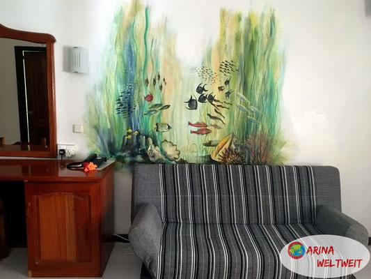 Cooles Wandgemälde, oder?