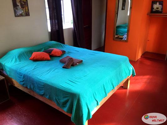 Dreibettzimmer für die erste Nacht
