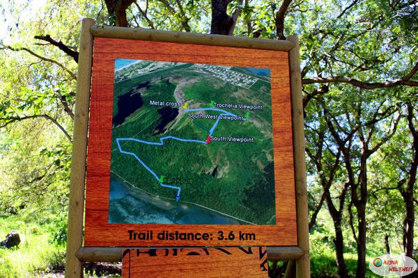 So sieht der Trail aus.