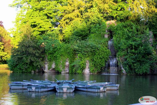 Boote kann man hier ausleihen